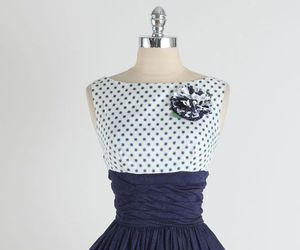 1950s, 50's, and dress image