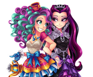 ever after high, Queen, and raven queen image