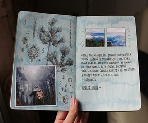 creative, diary, and photo image
