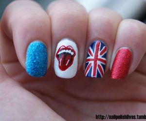 nails, rolling stones, and england image