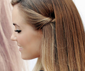 hair, girl, and lauren conrad image