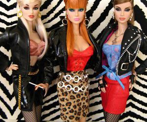 barbie, bitch, and doll image