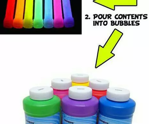 bubbles, diy, and color image