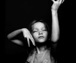 black and white, dance, and photography image