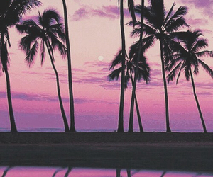 background, pink, and sky image