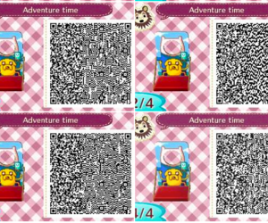 animal crossing, qr code, and qr codes image