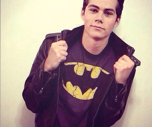 dylan o'brien, teen wolf, and batman image