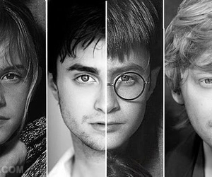 daniel radcliffe, ron weasley, and the golden trio image