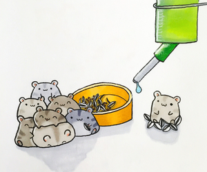 hamster, animal, and cute image