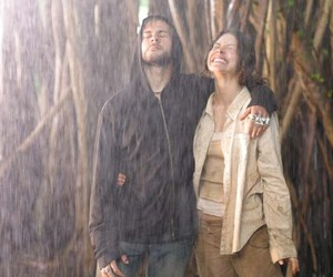 Dominic Monaghan, evangeline lilly, and lost image