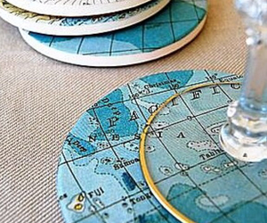 atlas, map, and coaster image
