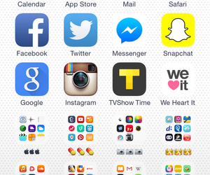 iphone, homescreen, and iphone6 image