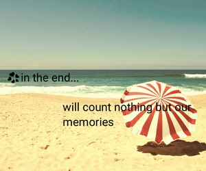 beach, end, and happiness image