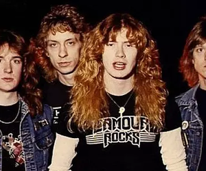 dave mustaine, grunge, and rock image