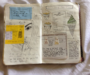 journal, journal inspiration, and journaling image