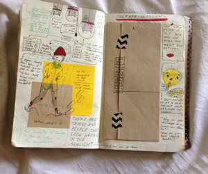 journal, journaling, and journal ideas image