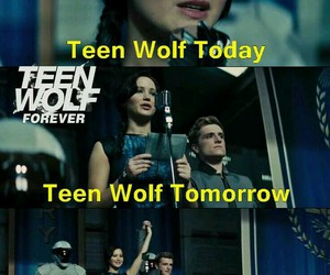 teen wolf, forever, and the hunger games image