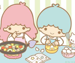 little twin stars, sanrio, and kiki&lala image