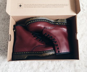 boots, grunge, and red image