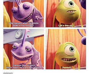 funny, math, and monsters inc image