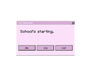 overlay, pink, and school image