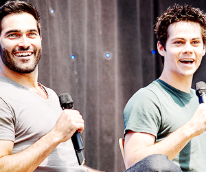 teen wolf, dylan obrien, and tyler hoechlin image