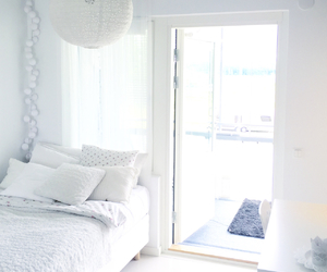girly, room, and white image