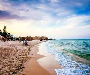 alone, beach, and beautiful image