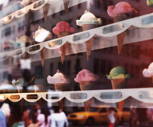 cream, ice, and sweet image