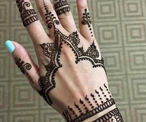 henna, nails, and tatoo image