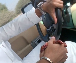 car, hands, and henna image