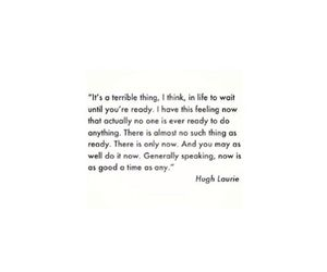 hugh laurie, life, and quote image