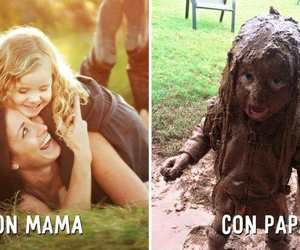 fun, with mom, and lol image