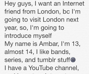 london, bands, and internet friends image
