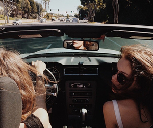 car, happiness, and la image