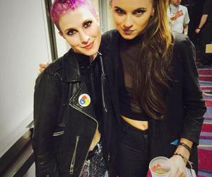 hayley williams, paramore, and pvris image