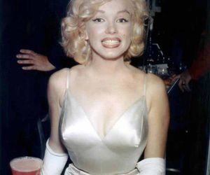 Marilyn Monroe, smile, and beautiful image