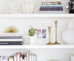 decor, home, and shelves image
