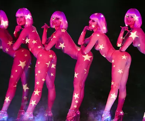 pink, burlesque, and stars image