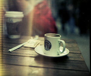 coffee, cup, and starbucks image
