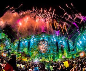 Tomorrowland, party, and edm image