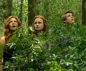 rachelle lefevre, colin ford, and under the dome image