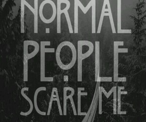 tate, ahs, and normal people scare me image