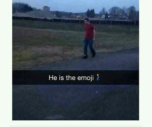 funny, tumblr, and emoji image