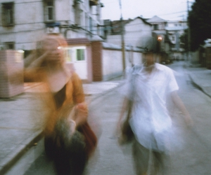 blur, girl, and grunge image