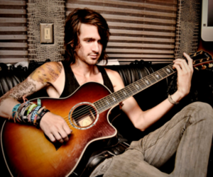 mayday parade, derek sanders, and guitar image