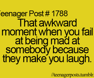 laugh, mad, and fail image