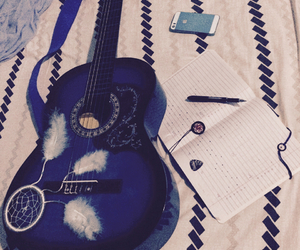dream catcher, guitar, and music image