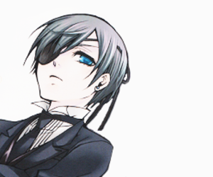 black butler and ciel phantomhive image