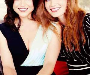 lana parrilla, evil queen, and rebecca mader image